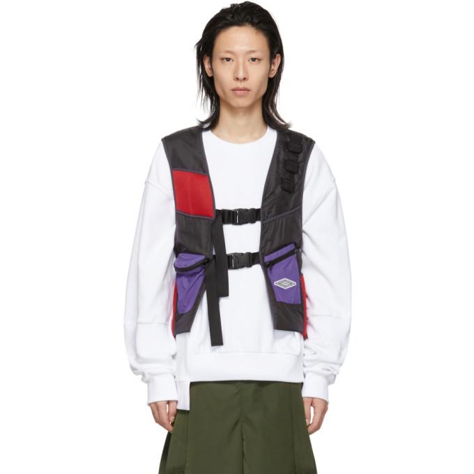 Image of D.Gnak by Kang.D Black Buckle Back Vest