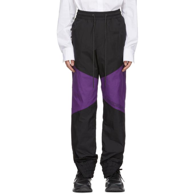 Image of D.Gnak by Kang.D Black Colorblock Lounge Pants