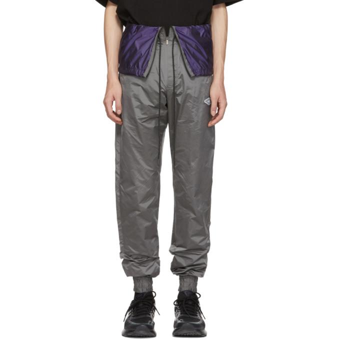 D.Gnak by Kang.D Pantalon de survetement gris Waist Flap