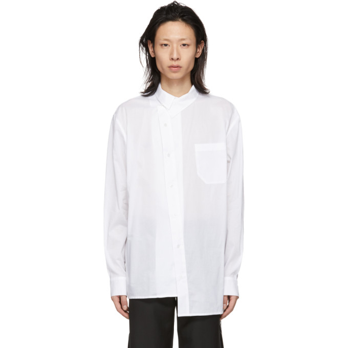 D.Gnak by Kang.D Chemise blanche Asymmetry