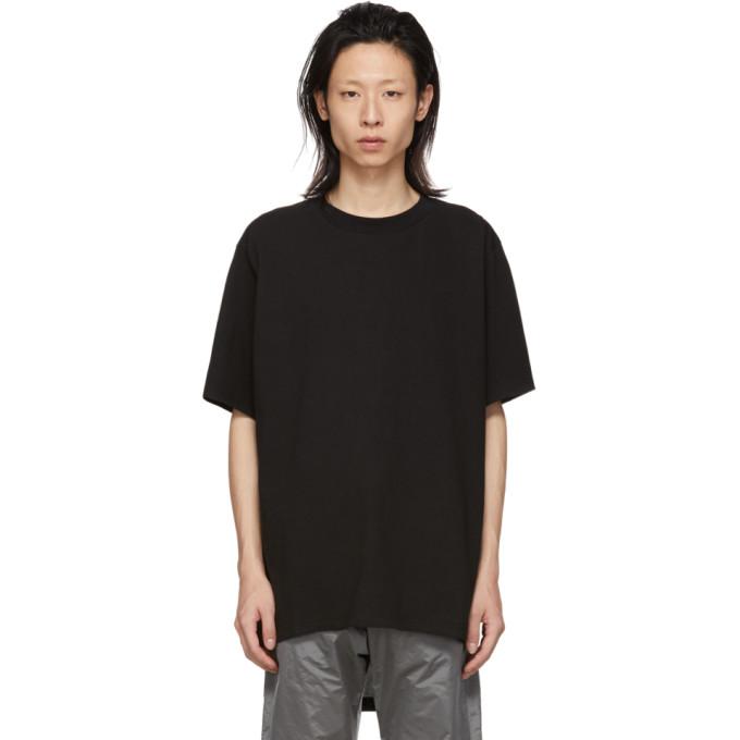 Image of D.Gnak by Kang.D Black Back Zipper T-Shirt