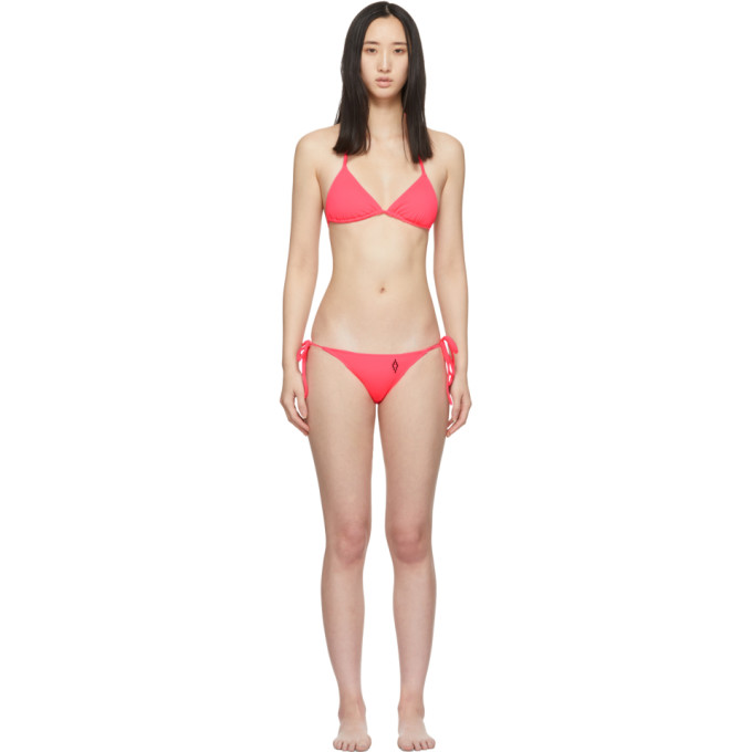 Marcelo Burlon County of Milan Bikini rose Cross