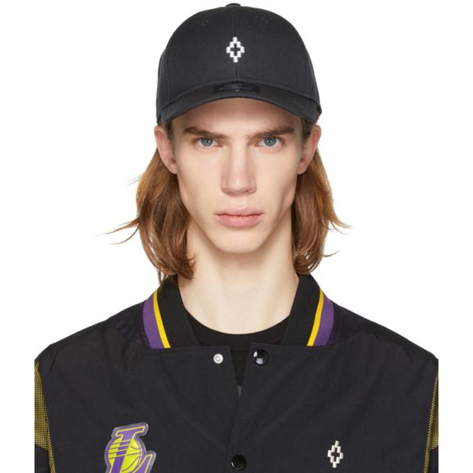 Marcelo Burlon County of Milan Black Starter Edition Cross Cap