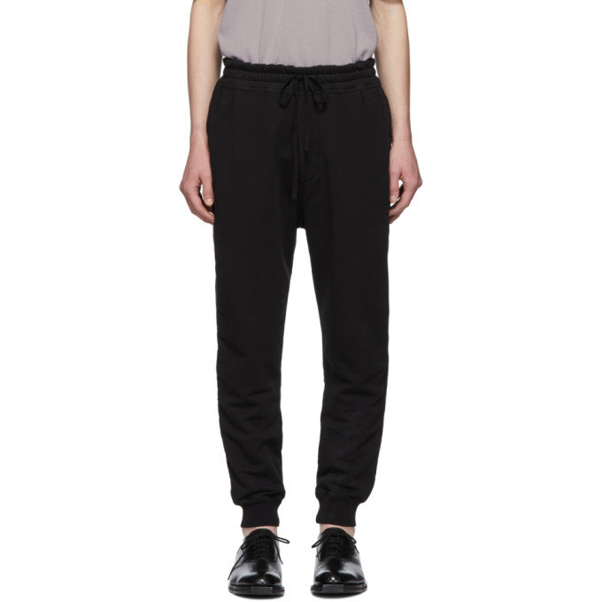 Haider Ackermann Pantalon de survetement noir Perth Jogger