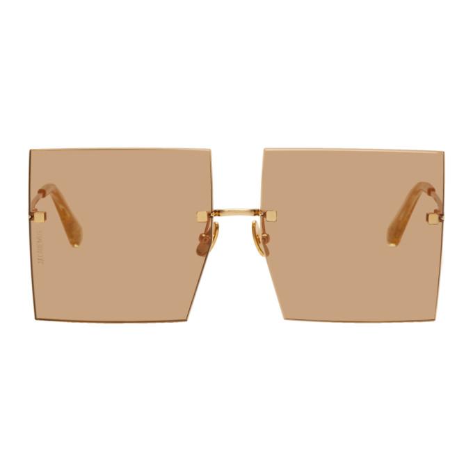 JACQUEMUS | Jacquemus Orange Les Carres Riviera Sunglasses | Goxip