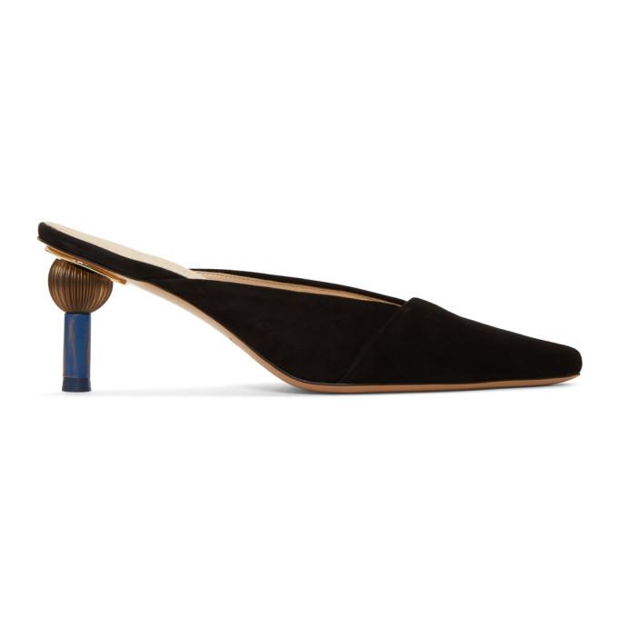 Jacquemus Black 'Les Mules Sao' Heels