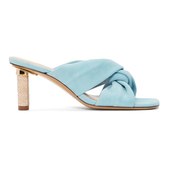 Jacquemus Blue Les Mulles Bellagio Sandals