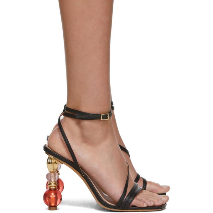 JACQUEMUS | Jacquemus Black Les Sandales Bordighera Sandals | Goxip