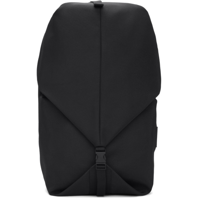 Côte & Ciel Black Small Eco Yarn Oril Backpack