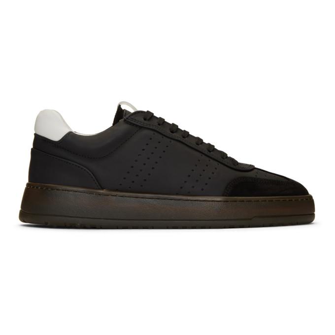 ETQ Amsterdam Black Retro LT 05 Sneakers