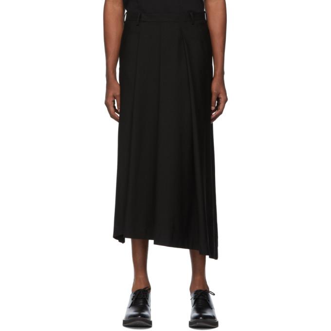 Lad Musician Pantalon noir Asymmetry