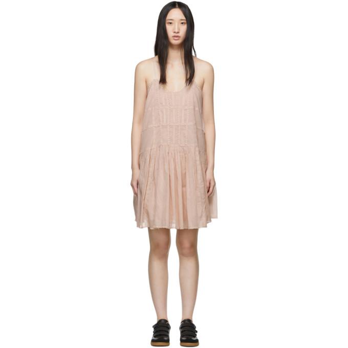 Isabel Marant Etoile ピンク Amelie ドレス
