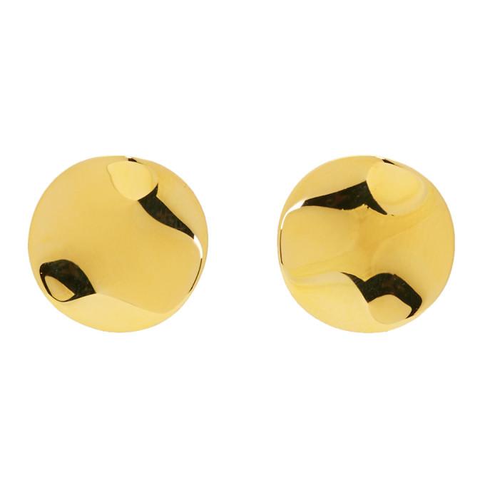 Isabel Marant Gold Petals Earrings