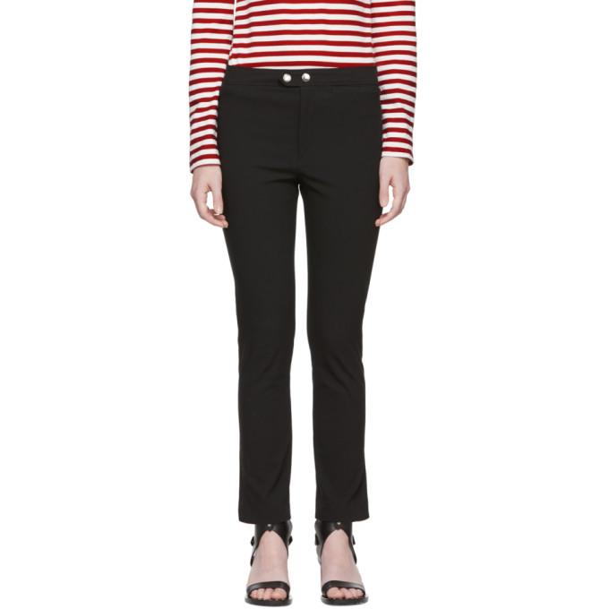 Isabel Marant Black Nila Trousers in 01Bk Black