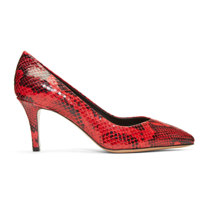 Isabel Marant Red Pully Heels
