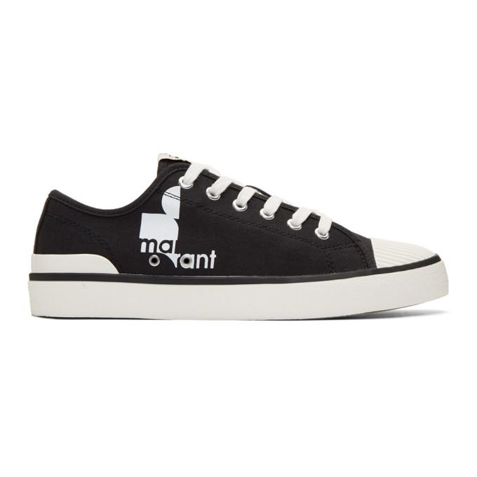 Isabel Marant Black Binkooh Tennis Sneakers