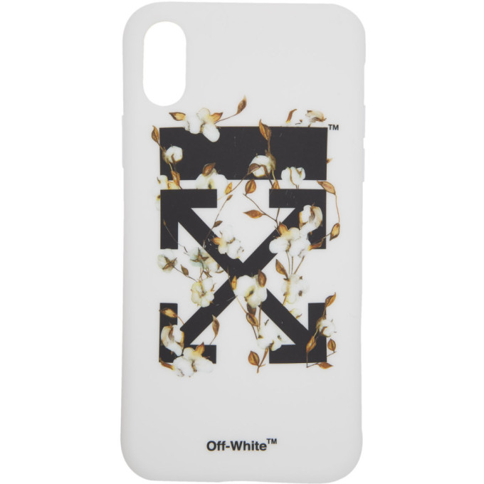 Arrows Floral Print Iphone X Case in Multi