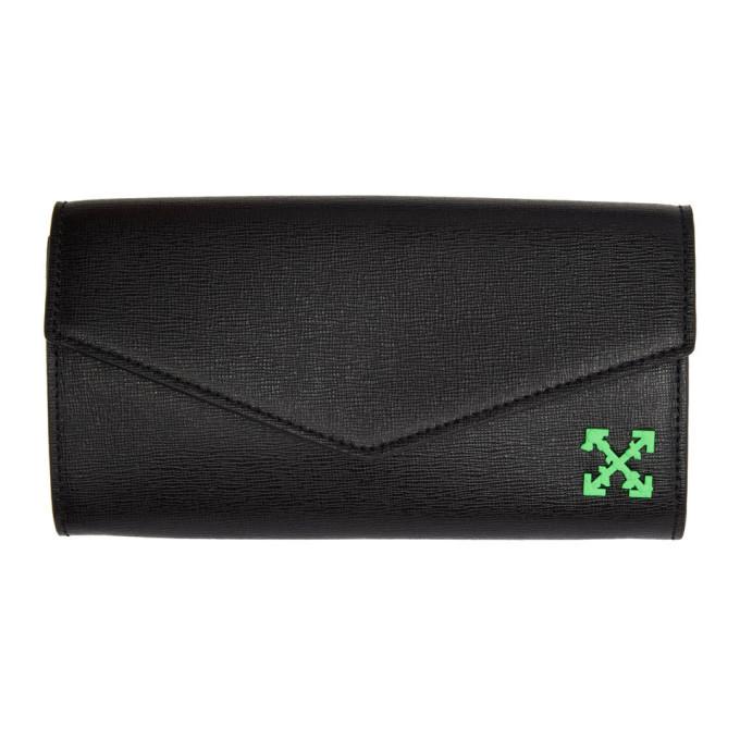 Off-White Black Long Wallet