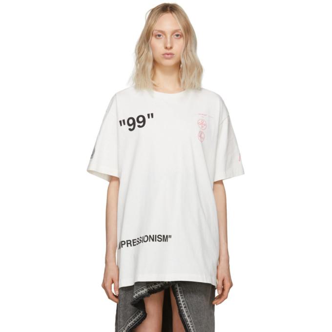 Off White Off White Oversized Boat T Shirt