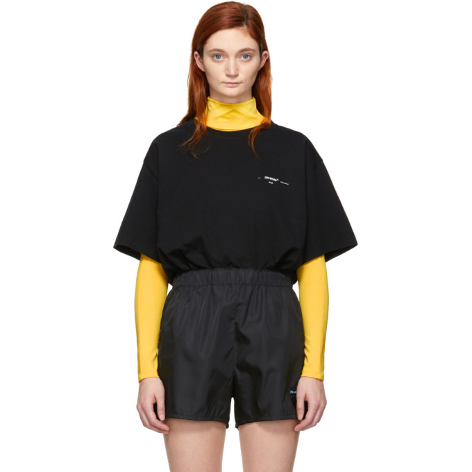 Off White Black & Multicolor Arrows T Shirt