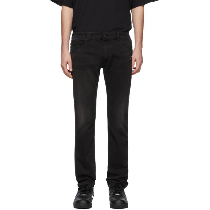 Off White Black Skinny Jeans