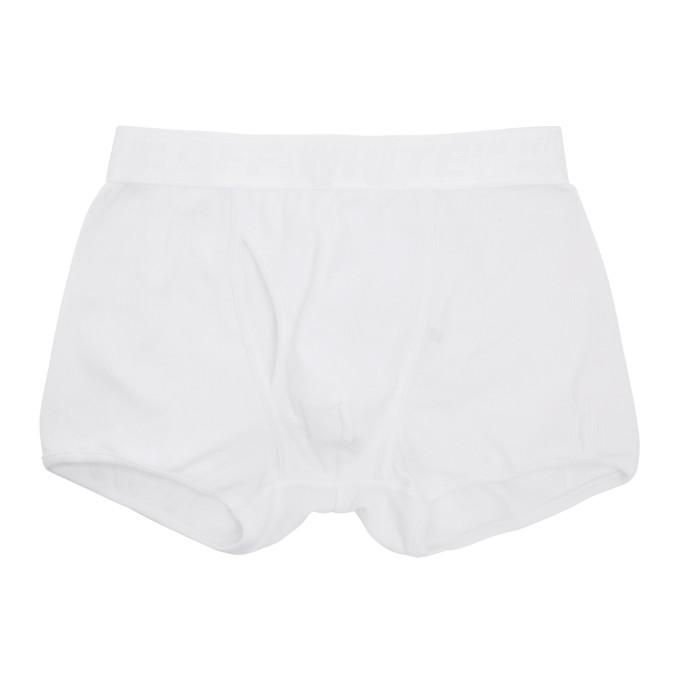 Off-White Ensemble de trois boxers extensibles blancs