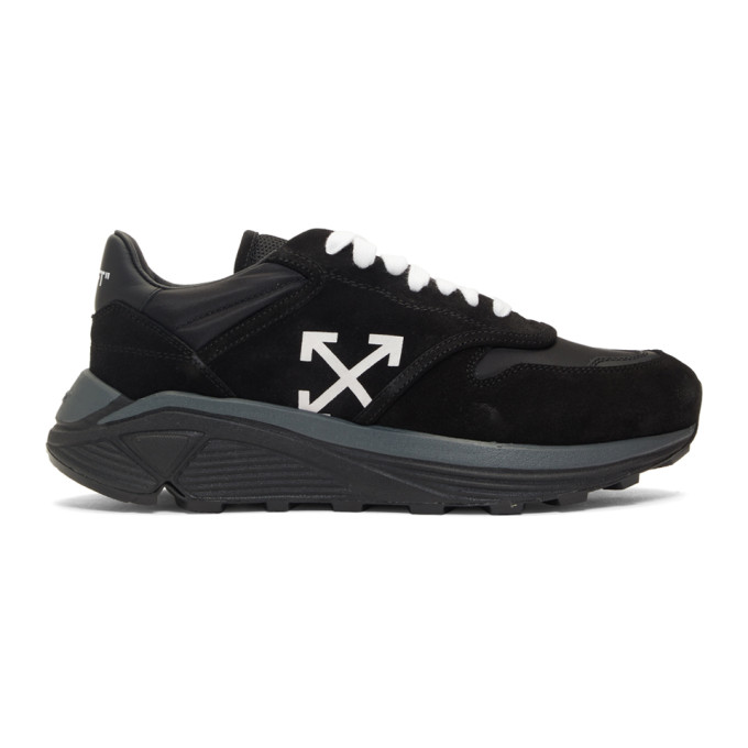Off-White Black Jogger Sneakers