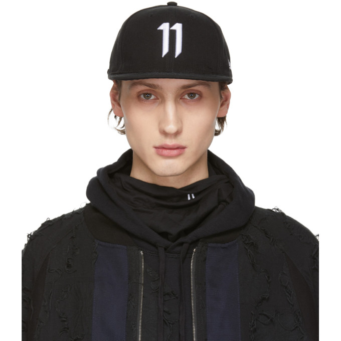 Image of 11 by Boris Bidjan Saberi Black Logo Cap