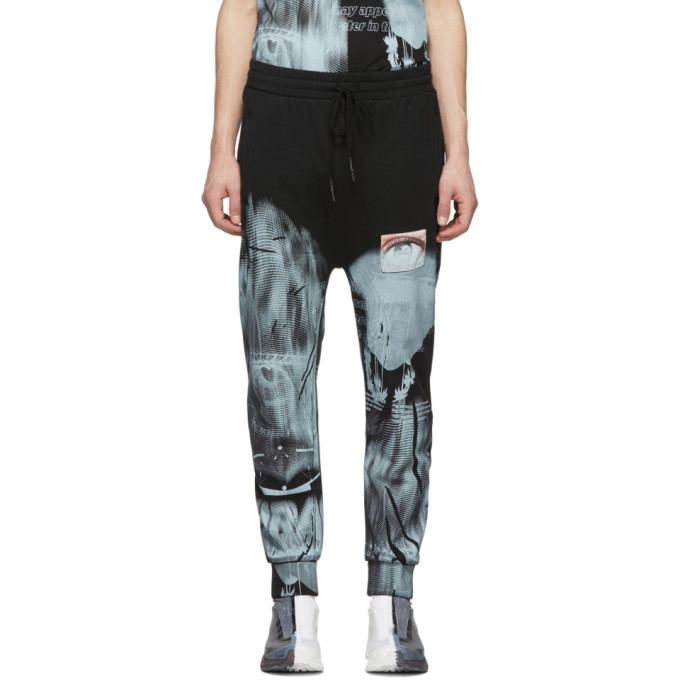 Image of 11 by Boris Bidjan Saberi Black Mirage Lounge Pants