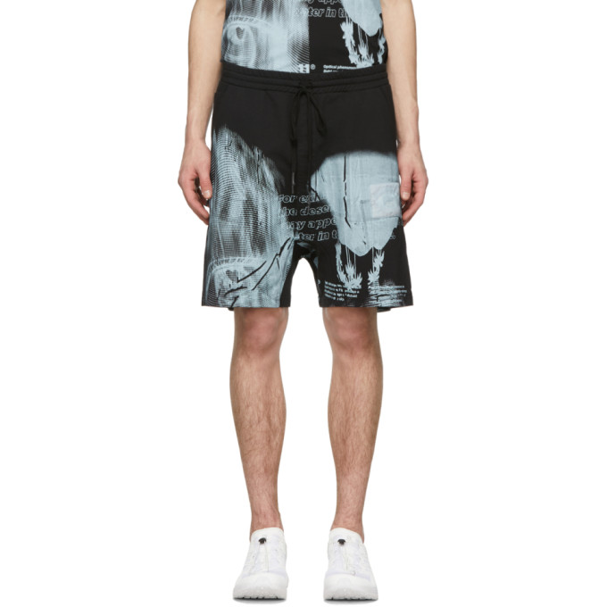 Image of 11 by Boris Bidjan Saberi Black Mirage Shorts