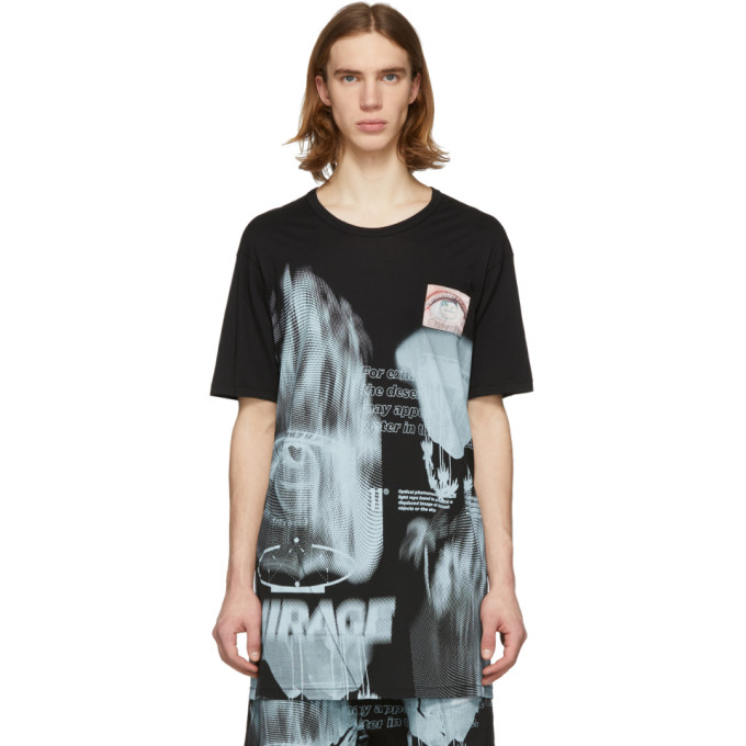 Image of 11 by Boris Bidjan Saberi Black Mirage T-Shirt