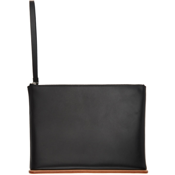 Image of Building Block Black Large Wristlet Pouch