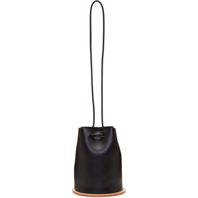 Image of Building Block Black Disc Bucket Bag