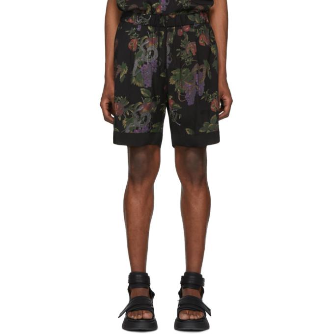 Image of Diet Butcher Slim Skin Black Forbidden Fruit Shorts