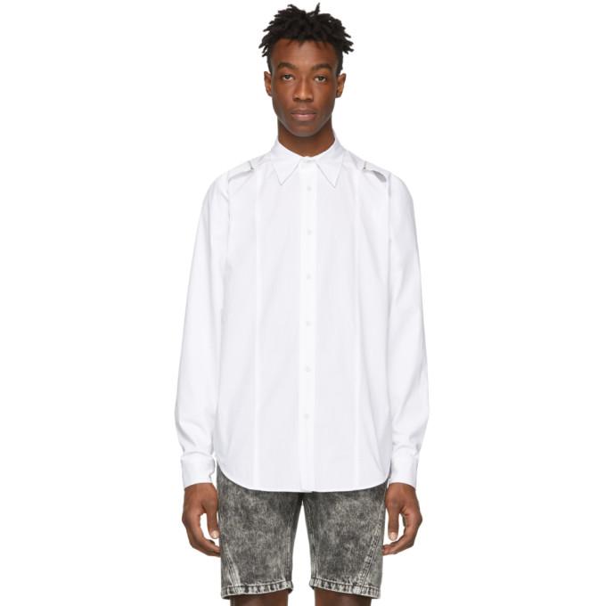 Johnlawrencesullivan Chemise blanche Attached Sleeve