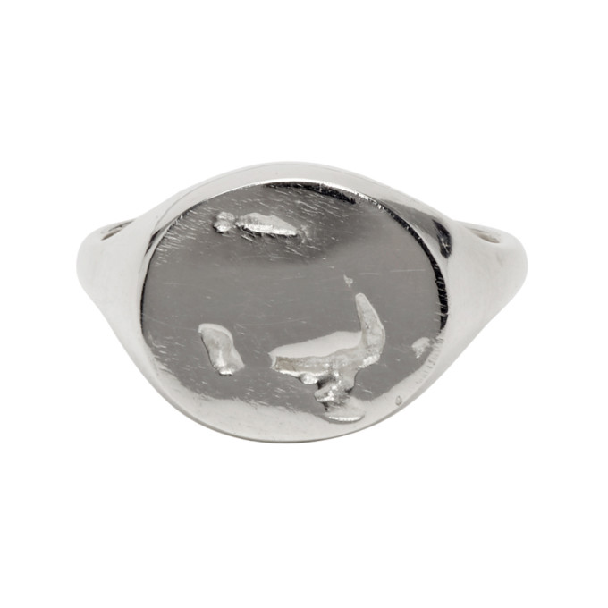 Pearls Before Swine Silver Signet Ring