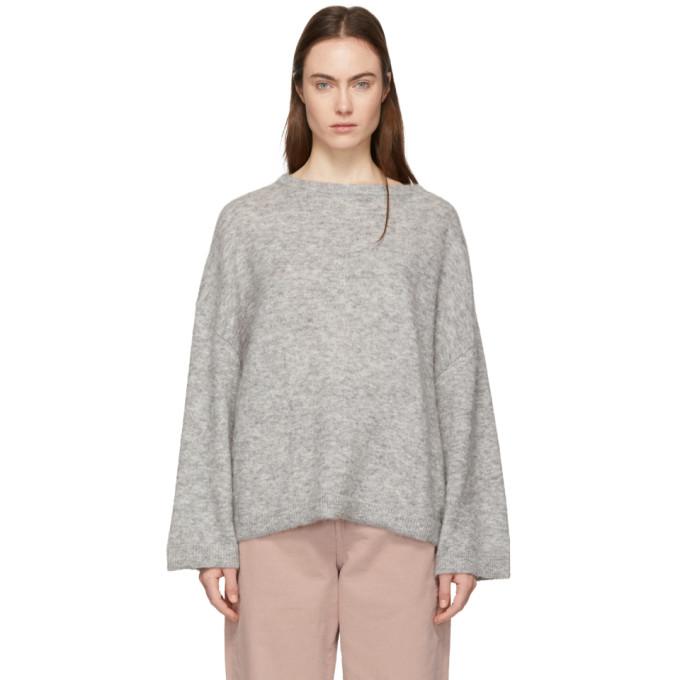 WON HUNDRED Won Hundred Grey Brook Winter Sweater in 9830 Grey M