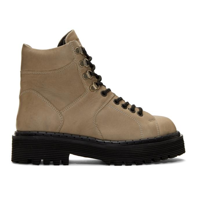 WON HUNDRED Won Hundred Brown Mila Hiking Boots in 61 Lightbro