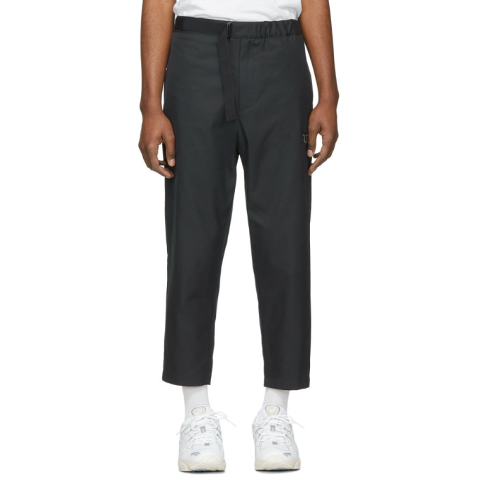 OAMC Pantalon a ceinture bleu marine