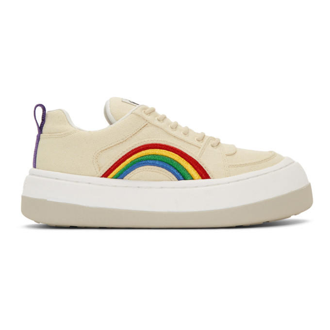 Eytys Sneakers EYTYS OFF-WHITE CANVAS SONIC SNEAKERS
