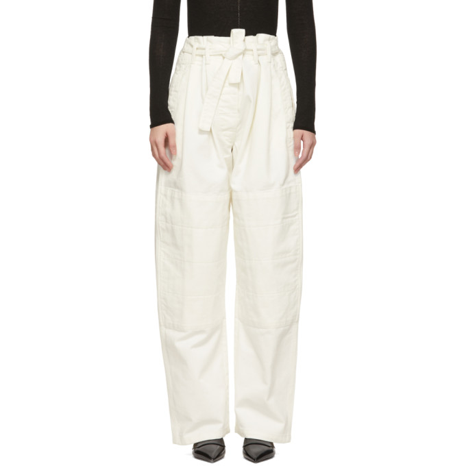 Lemaire Off-White Martial Jeans