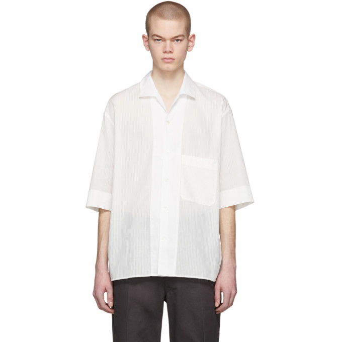 Lemaire Chemise blanche Convertible Collar