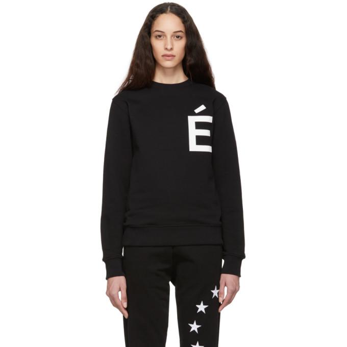 Etudes Studio T-shirts ETUDES BLACK STORY ACCENT SWEATSHIRT