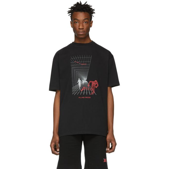 Filling Pieces T-shirt noir Running
