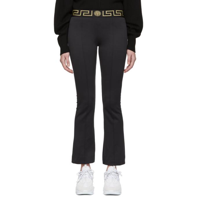 dfae0dd8e Versace Underwear Black Greek Key Lounge Pants