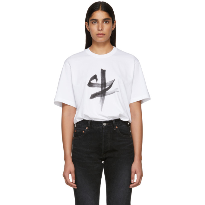 VETEMENTS Chinese Zodiac Tee in White