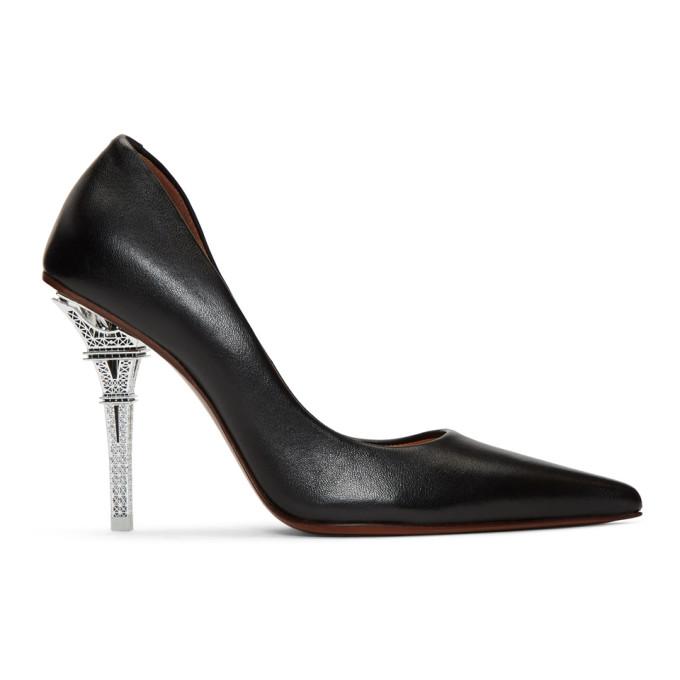Vetements Shoes VETEMENTS BLACK EIFFEL TOWER HEELS