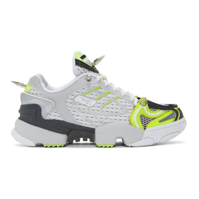 Vetements Sneakers GREY & YELLOW REEBOK EDITION SPIKE RUNNER 400 SNEAKERS