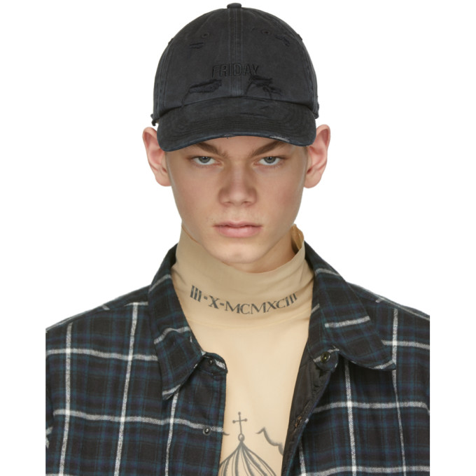 Vetements Casquette noire Friday Weekday