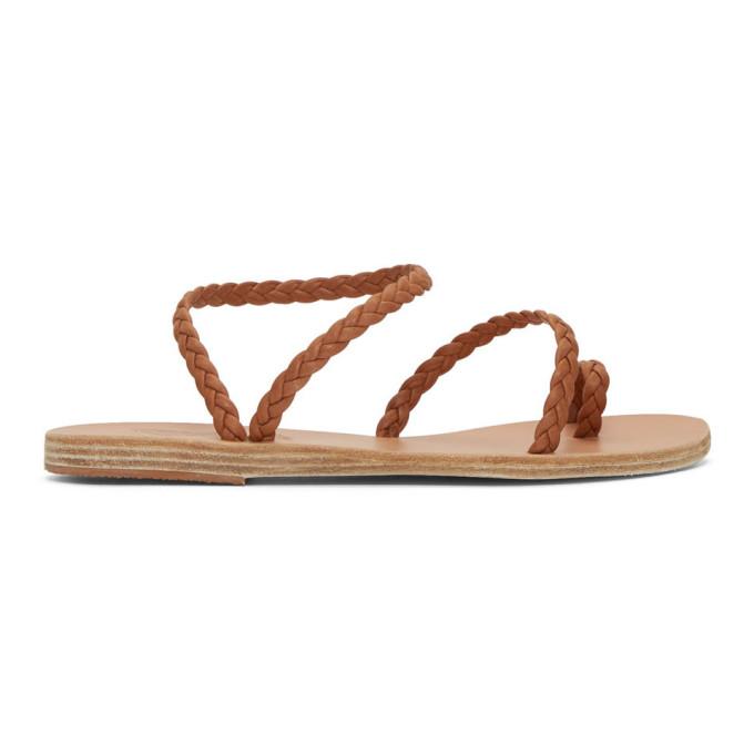 Ancient Greek Sandals Brown Eleftheria Sandals